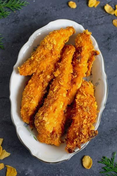 Chrupiące paluszki z kurczaka