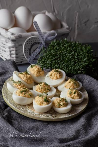Jajka z chrzanem i rzeżuchą