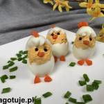 Kurczaczki wielkanocne z jajek