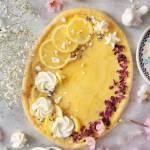 Mazurek cytrynowo-różany