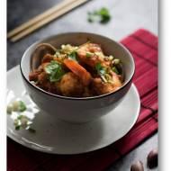 Pikantne krewetki po syczuańsku, błyskawiczne chińskie danie