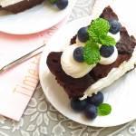 Ciasto czekoladowe z bitą śmietaną (BEZ MĄKI)