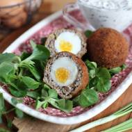 Jajka po szkocku z sosem tatarskim