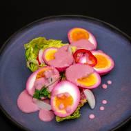 Jajka z sosem chrzanowym