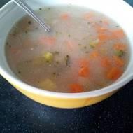 Zupa jarzynowa z kaszą jeczmienną