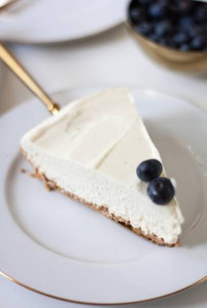 Sernik z białą czekoladą – bez pieczenia, bez żelatyny