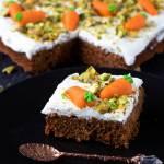 Odchudzone ciasto marchewkowe