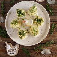 Jajka faszerowane koperkowym serkiem