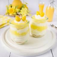 Wielkanocny deser z ajerkoniakiem