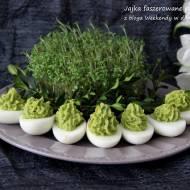 Jajka faszerowane pastą z brokułu