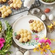 Wielkanocne ciasteczka owieczki