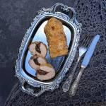 Polędwica wieprzowa z farszem grzybowym w złocistej panierce