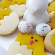 Ciasteczka kurczaczki na Wielkanoc