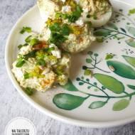 Jajka faszerowane brokułem i fetą