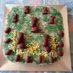 Spokojnych i wiosennychÅšwiąt Wielkanocnychoraz wszelkiej radości i pomyślnościÅ¼yczą,Ciastka domowe słodkości(Izab