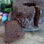 Babka czekoladowo - orzechowa