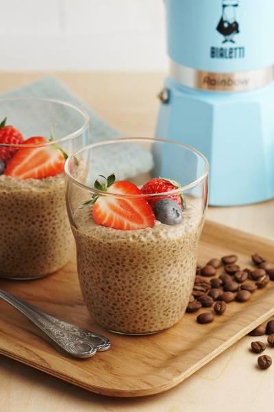 3 pomysły na FIT pudding kawowy