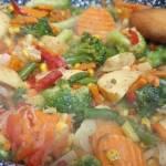 Warzywa na patelnię - szybki obiad