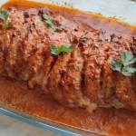 Kebabowa karkówka pieczona w plastrach