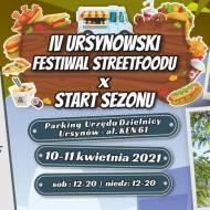 FESTIWAL STREETFOOD'U – WARSZAWA 10-11.04