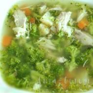 Zupa brokułowa na rosole