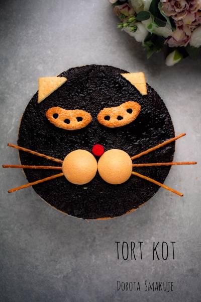Łatwy Tort Kot – przepis