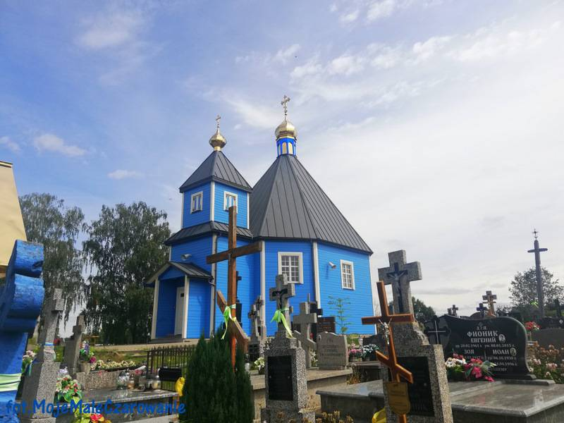 Cerkiew pod wezwaniem św. Dymitra w Parcewie woj. podlaskie