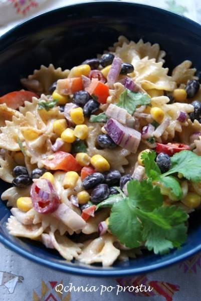 Meksykańska sałatka makaronowa