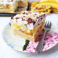 Ciasto bananowiec bez pieczenia
