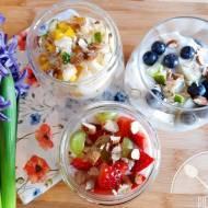 Jogurt z owocami – zdrowe parfait dla diabetyka