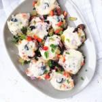 Polędwiczki zapiekane z serem i warzywami