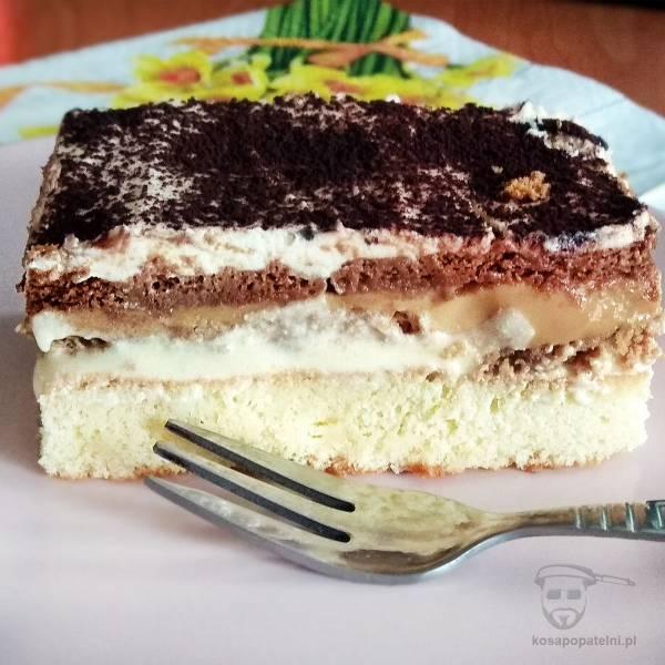Ciasto 3 Bit na biszkopcie – proste i pyszne
