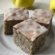 Ciasto makowe z lukrem