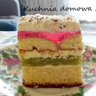 Ciasto wiosenna tęcza