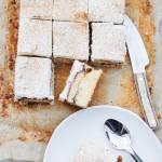 Proste ciasto ucierane z cynamonem i jabłkami