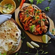 Meksykańskie Fajitas z piekarnika.