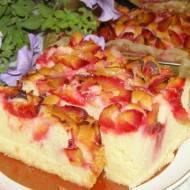 smaczne,łatwe, szybkie ciasto ucierane ze śliwkami...