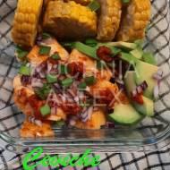 Ceviche z łososiem wg Aleex
