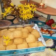 Ciasteczka z migdałami i sezamem