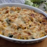 Zapiekanka z tortellini i brokułem