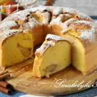 Ciasto majonezowe z jabłkami