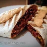 Pyszne i meksykańskie burrito