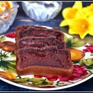 Ciasto czekoladowe z serkiem wiejskim