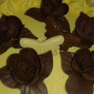 Tort ajerkoniakowo -kokosowy