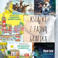 Książki dla dzieci z fajną grafiką
