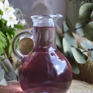 Z ŁĄKI NA TALERZ: Syrop z fiołków wonnych - buteleczki pełne wiosny