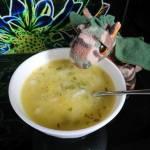 Zupa wiosenna z cukinii i kapusty