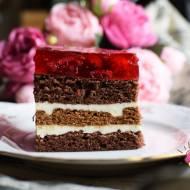 Ciasto malinowa księżniczka