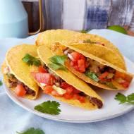 Tacos z wołowiną i salsą pomidorową