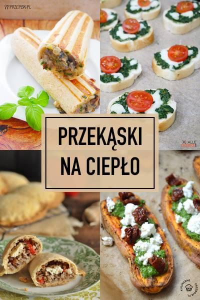 Pieczone Przekąski – TOP 14 Przepisów na Pyszne Przekąski na Ciepło